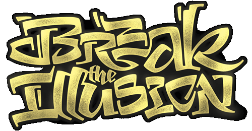 calligraphy — break the illusion