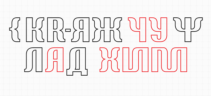 Weird curly cyrillic sans — to the chapter strange characters ot
